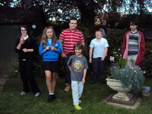 Sheila Chinn's grandchildren and neice and nephew (Tilly and Josh)