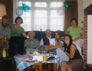 Chinn family - Bill and Miriam's 60th wedding Anniversary