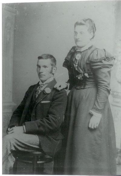 Arthur Chinn and Clara Chinn