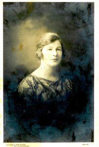 Miss Norman Teacher at Dinder School in Somerset
